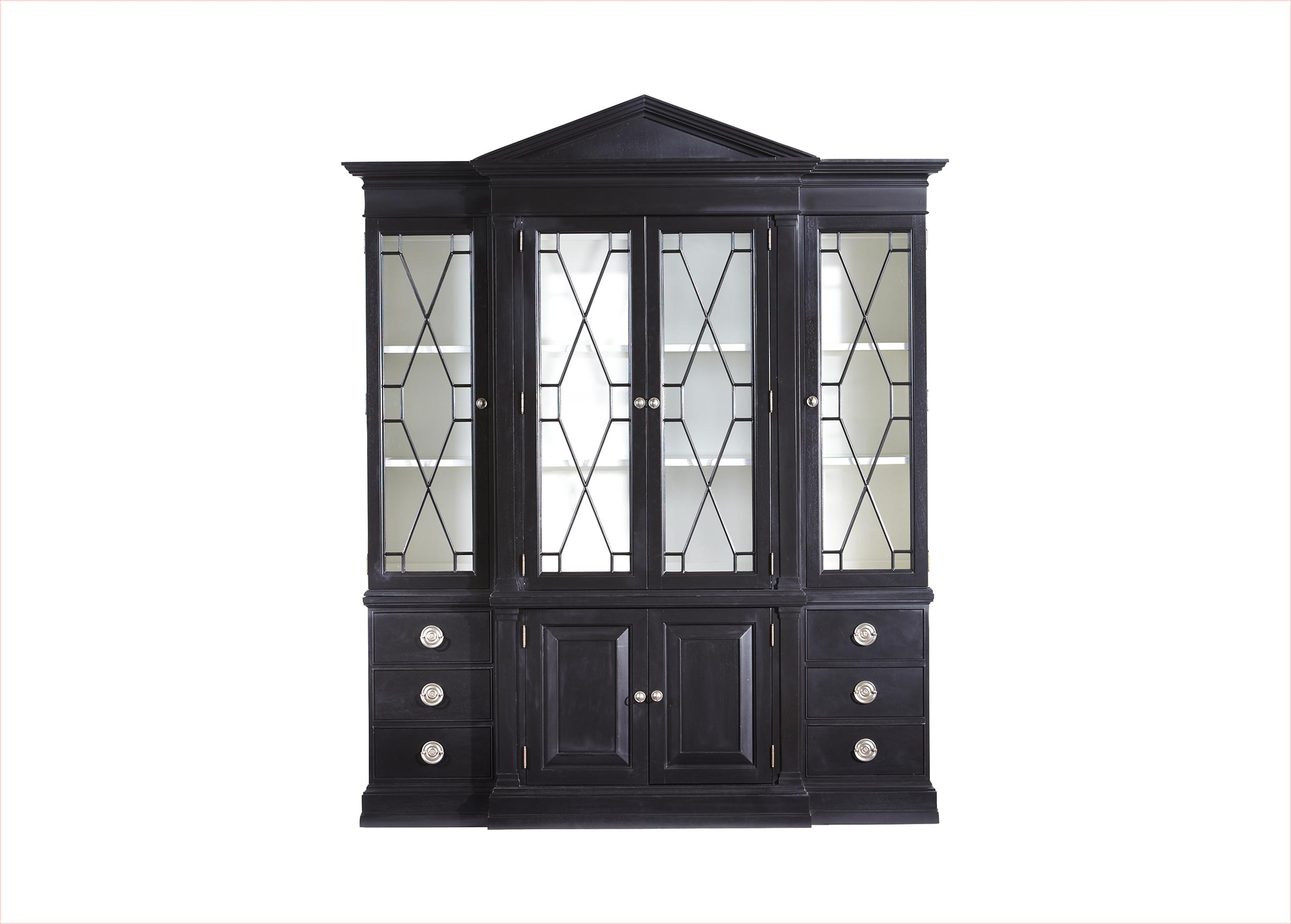 Images Wooster China Cabinet , , Large_gray