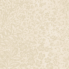 Soft Gold with White Bountiful Wallpaper