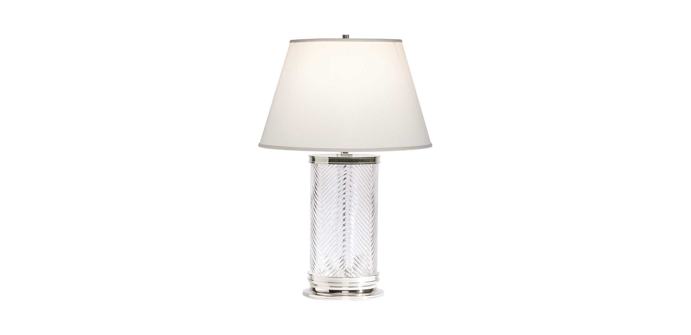 Herringbone glass table lamp table lamps ethan allen images herringbone glass table lamp largegray mozeypictures Gallery