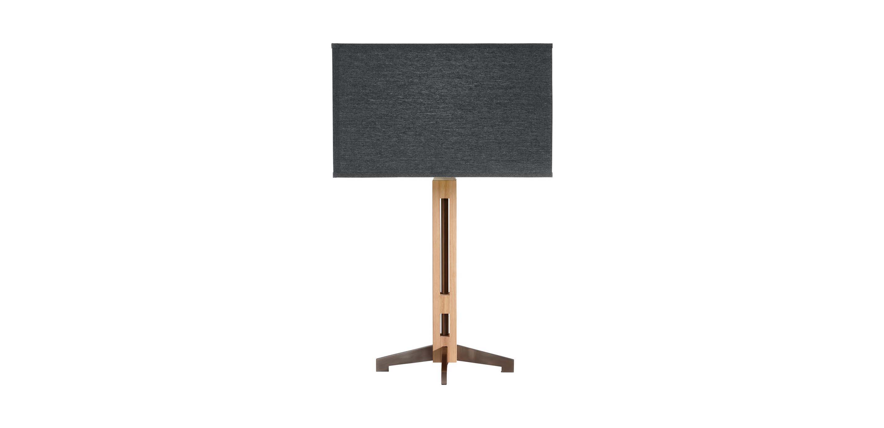 Conductor table lamp wooden table lamp navy table lamp images conductor table lamp largegray geotapseo Gallery