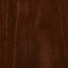 Hyde Park (590): Rich warm dark walnut-colored stain, lightly distressed, burnished edges; some pieces include ash burl drawer fronts with a lighter finish. Georgetown Dresser