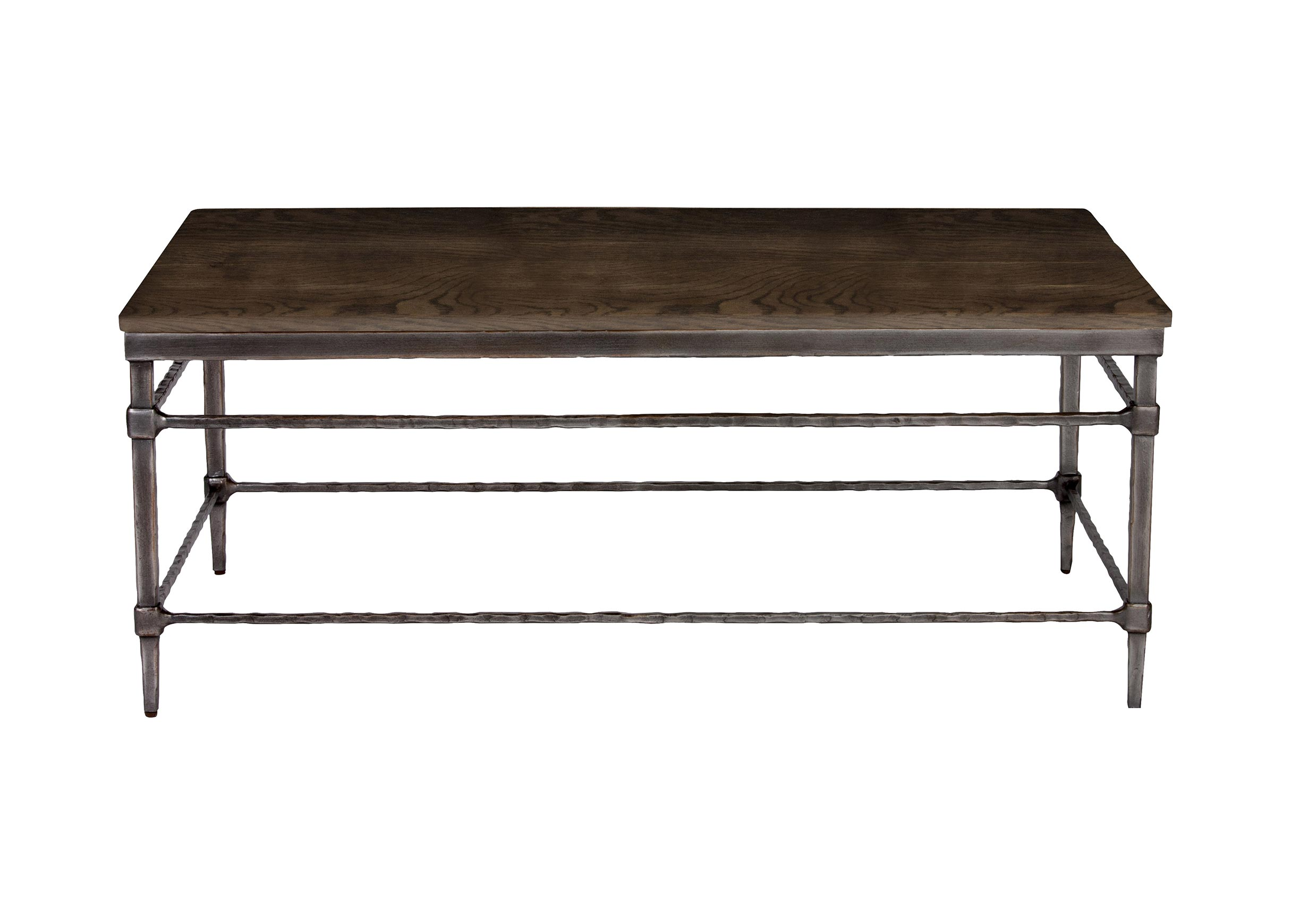 Vida Wood Top Coffee Table
