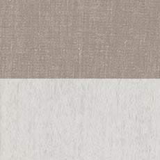 Sea Salt / Sandstone (719): White wood finish paired with a neutral protected fabric Rambert Two-Door Buffet