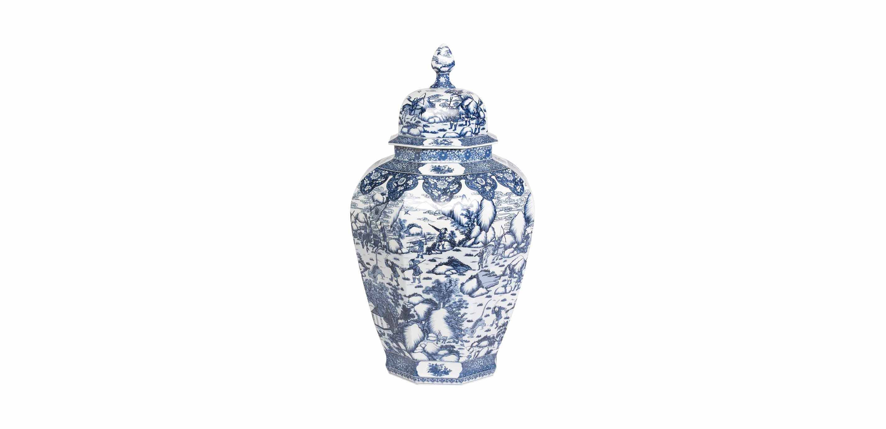 Large Blue And White Ginger Jar Images Ethan