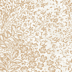 White with Bright Gold Bountiful Wallpaper