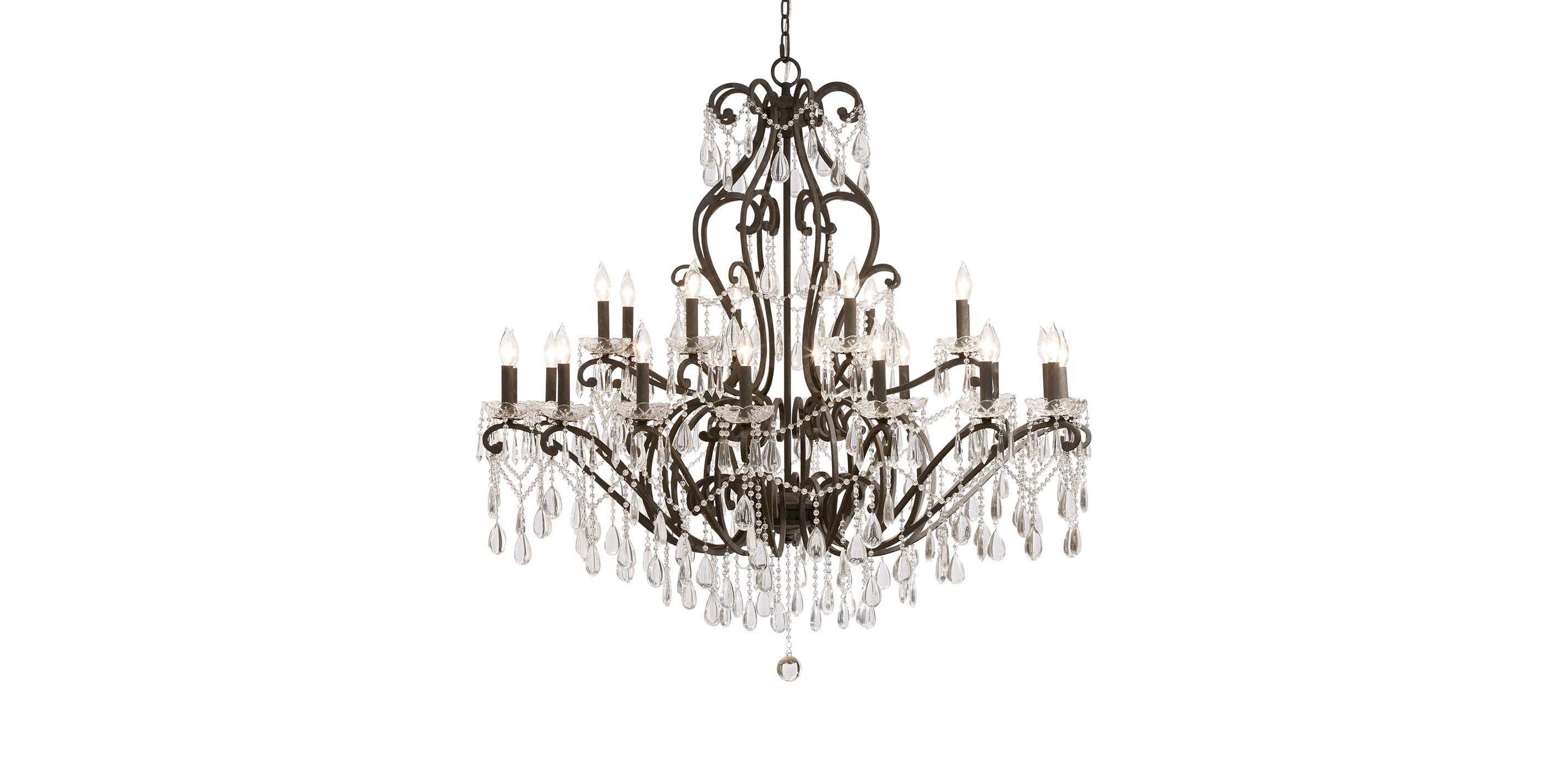 Images null & Whitney Slate Grand Chandelier | CHANDELIERS | Ethan Allen