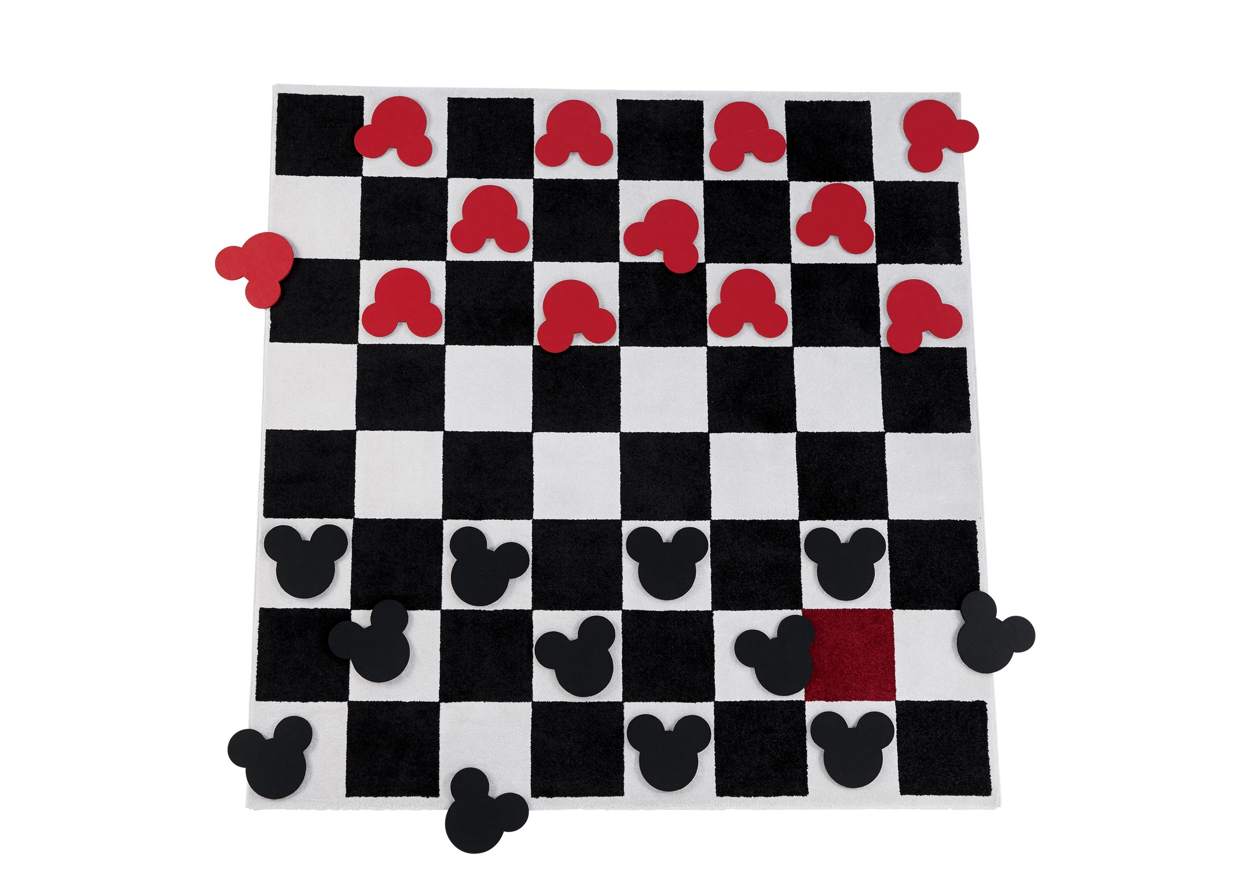 Checkboard Square Rug Set Rugs Ethan Allen