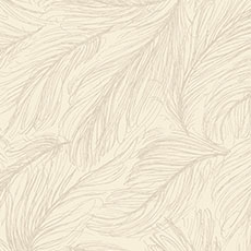 Cream with Silver and Gold Light as a Feather Wallpaper