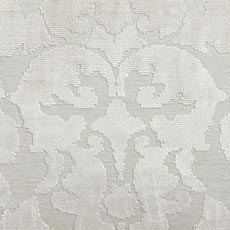 Taupe Cut Velvet Damask Pillow