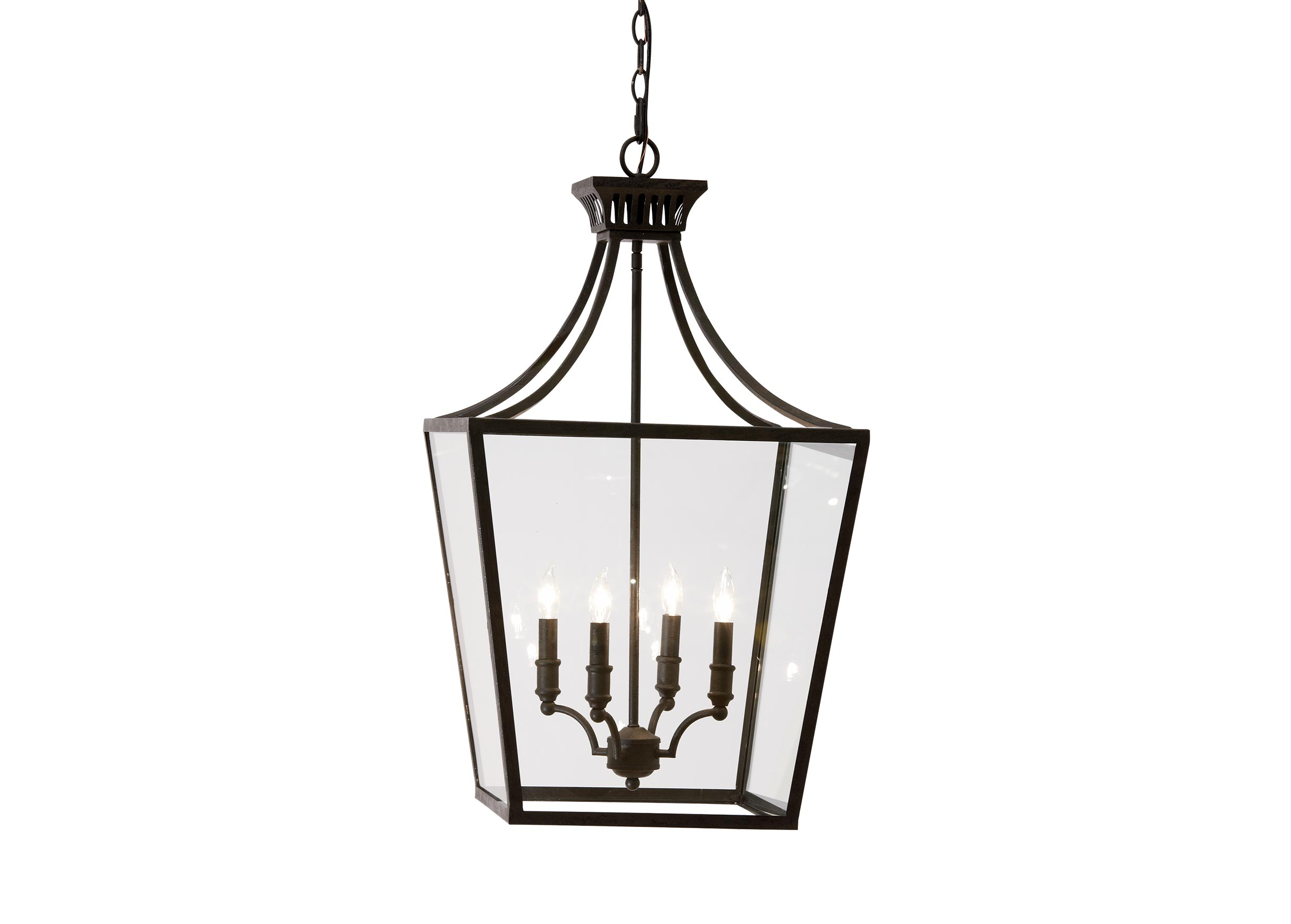 Images Marjorie Lantern Large Gray