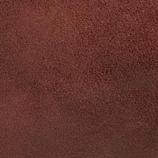 Burgundy Worn Leather Pillow