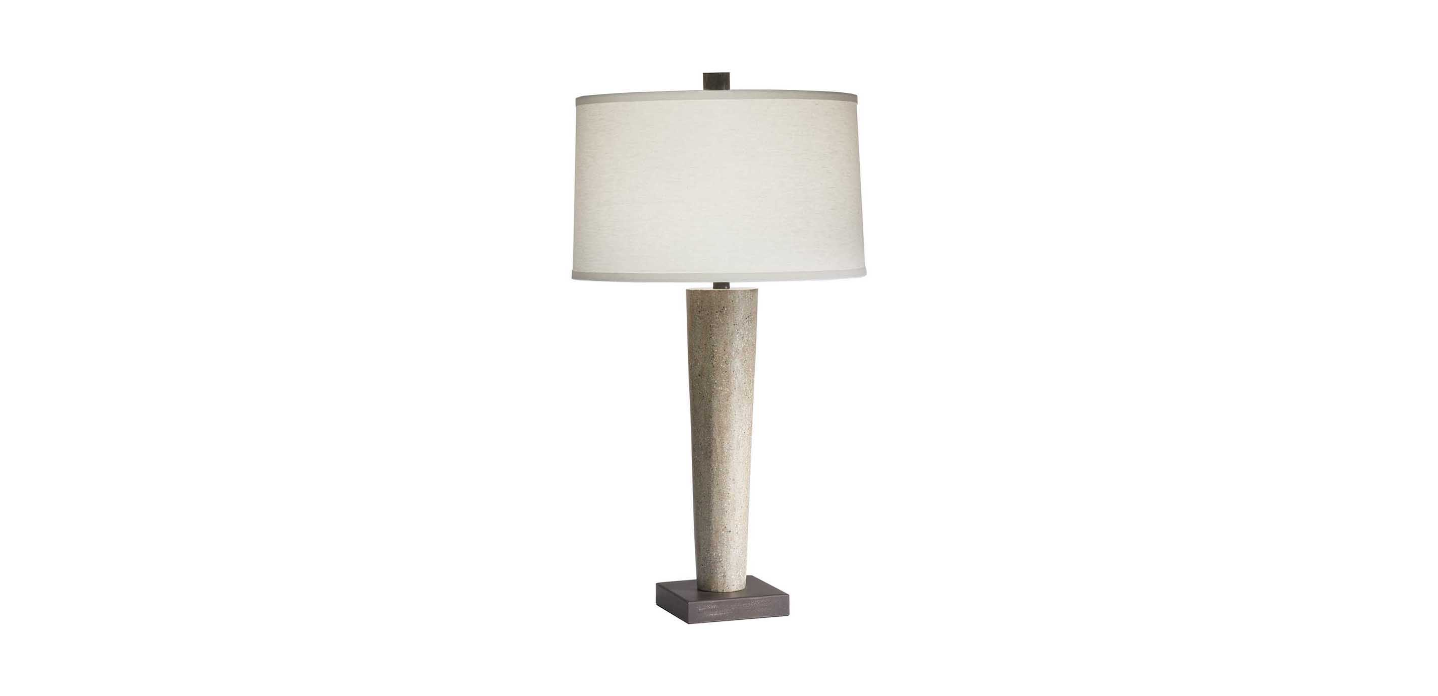 Perfect Images Mila Concrete Table Lamp , , Large_gray