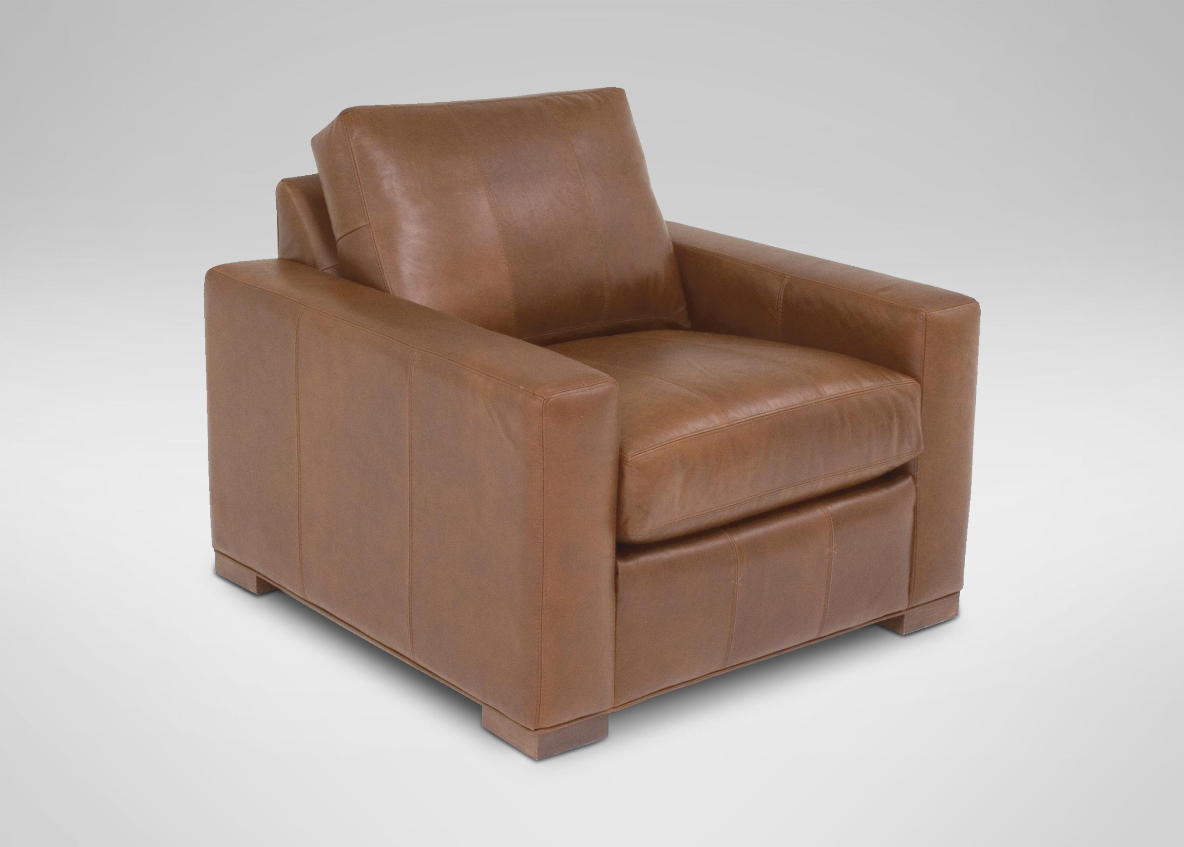 Images Hudson Leather Chair , , Large_gray