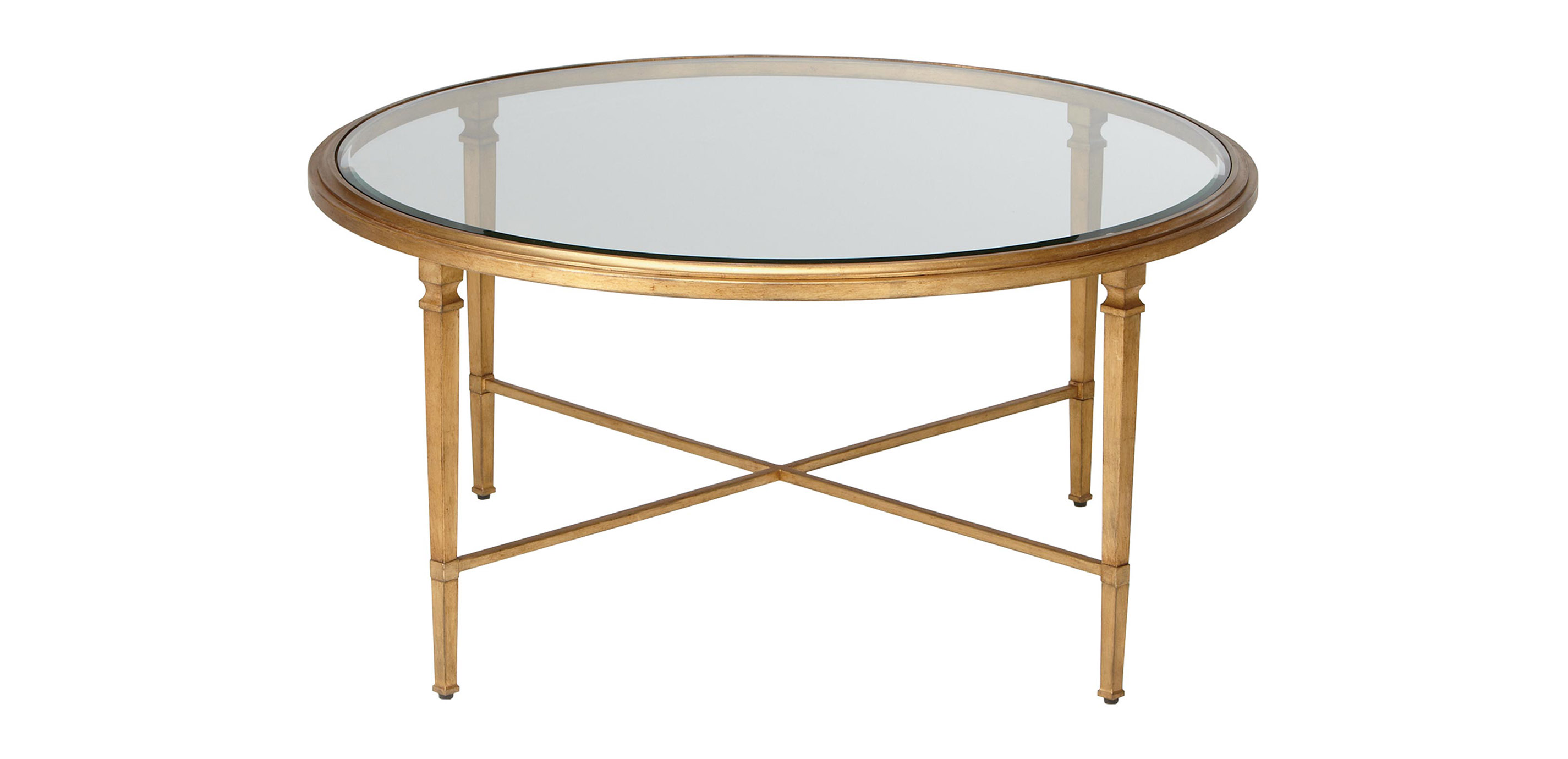 - Heron Round Coffee Table Coffee Tables Ethan Allen