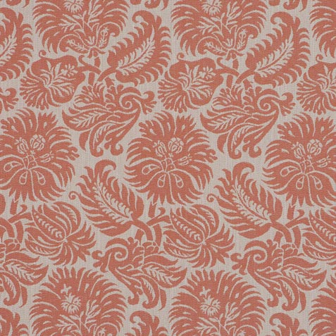 Lottie Coral Fabric by the Yard Product Thumbnail
