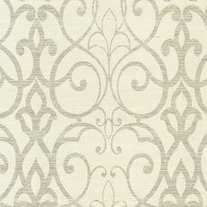 Gray Filigree Trellis Wallpaper