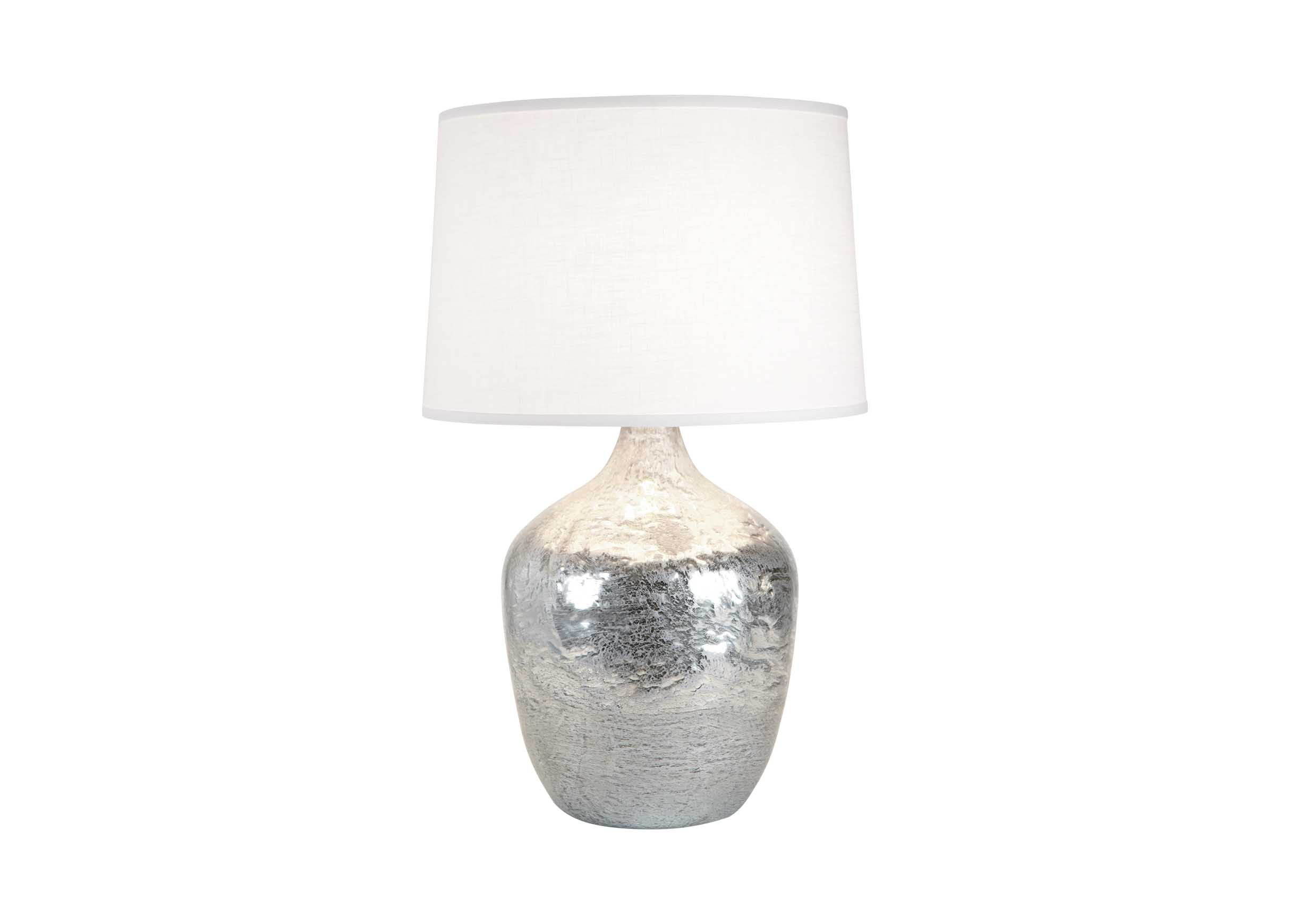 Large silver ice plum jar lamp table lamps images large silver ice plum jar lamp largegray geotapseo Images