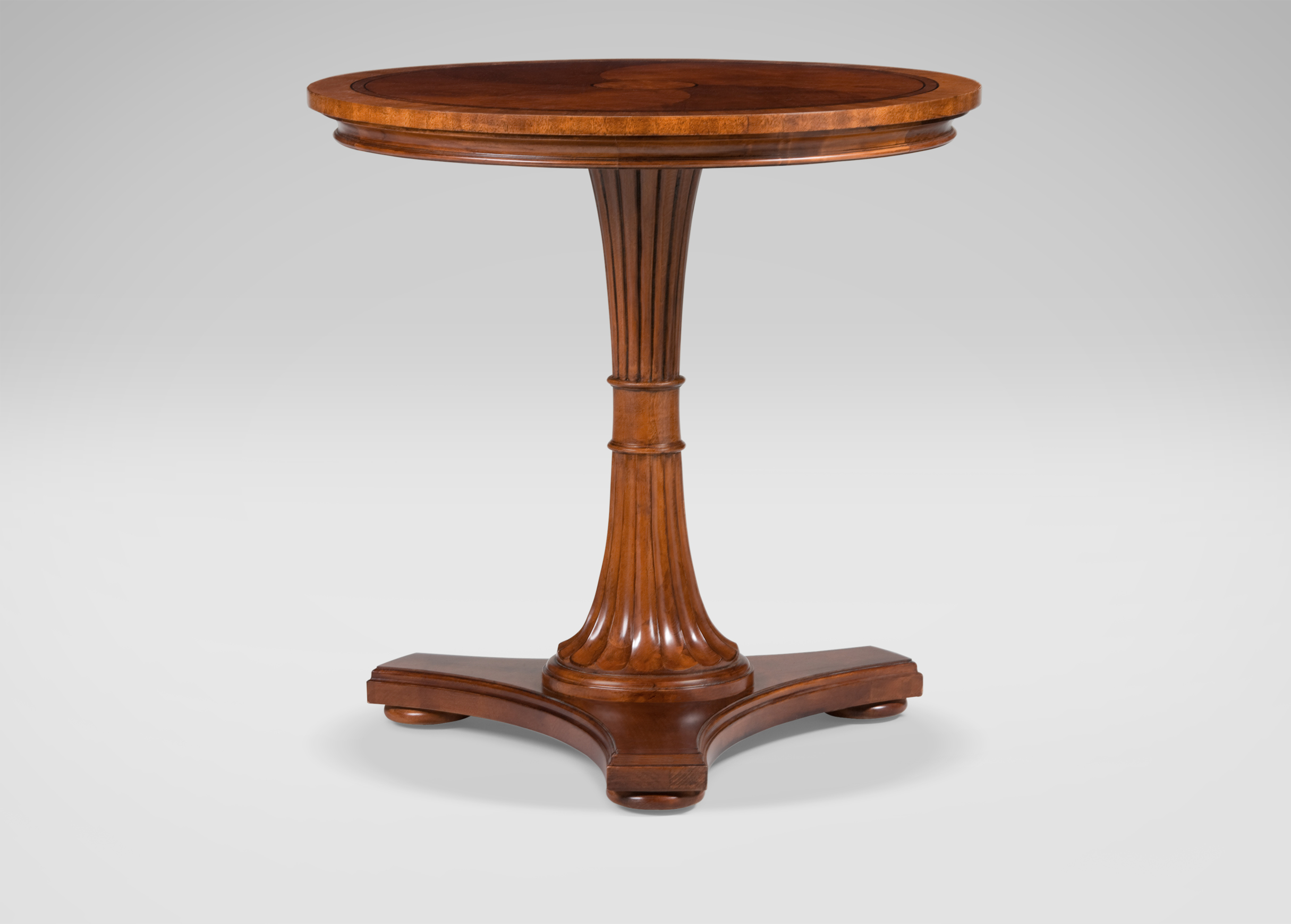 Upton pedestal table side tables for Pedestal table