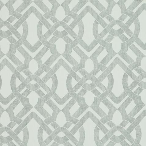 Curves Gray Fabric by the Yard ,  , large