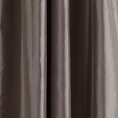 Charcoal Satin Dupioni Fabric by the Yard ,  , large