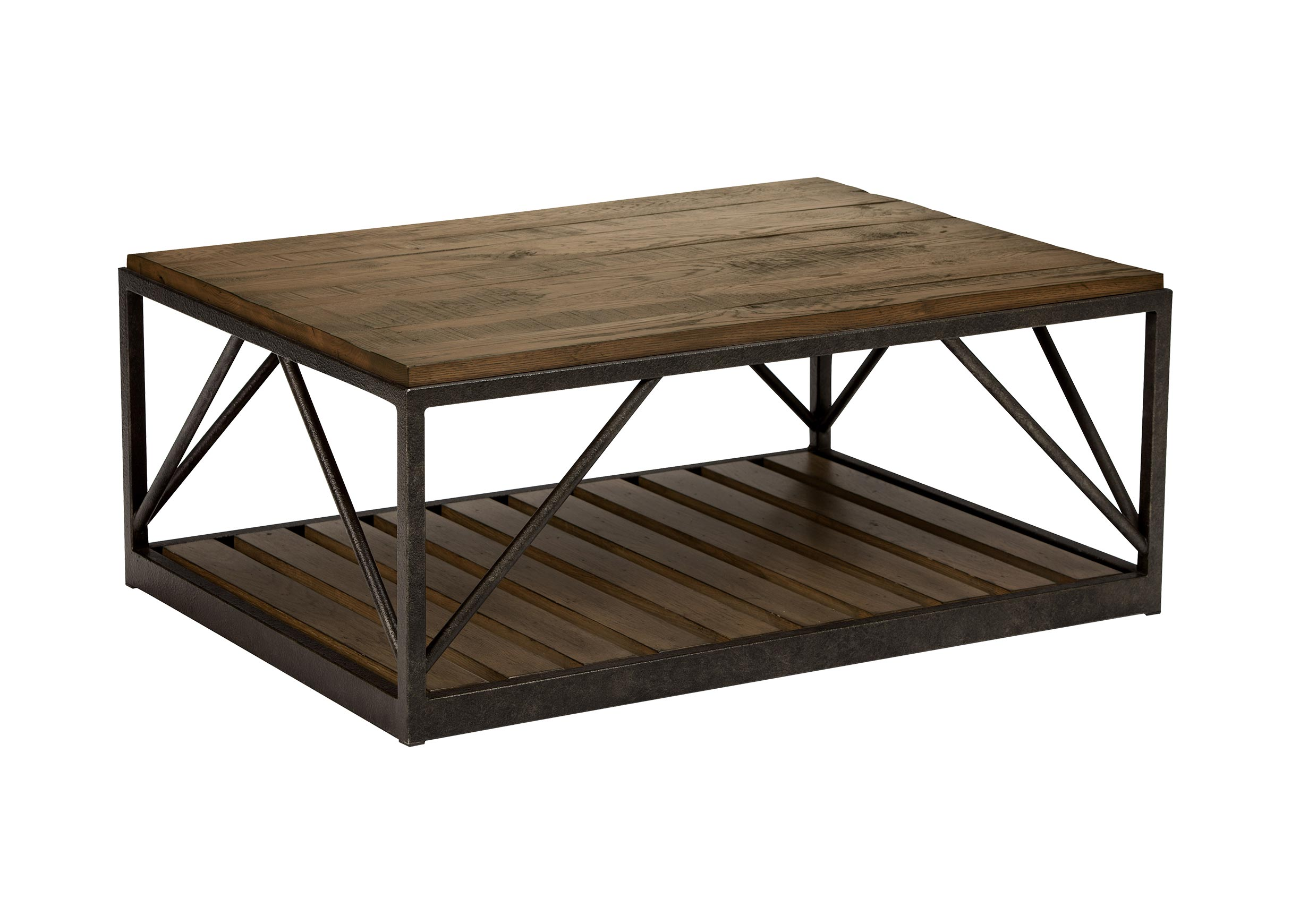 Beam Metal Base Coffee Table Tables Ethan Allen