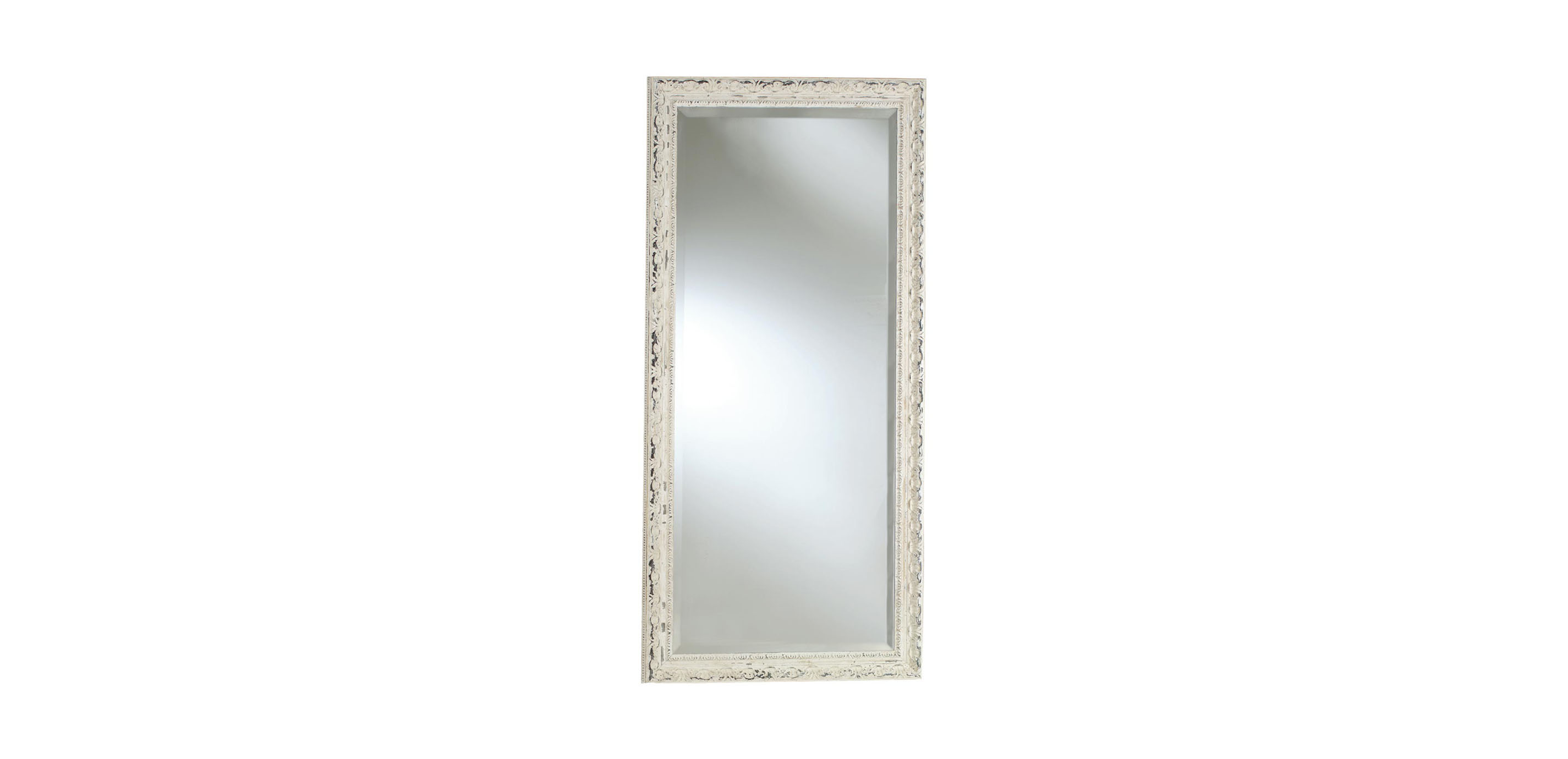 Decorative carved floor mirror mirrors ethan allen for Floor mirror