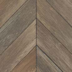 Brown Parisian Parquet Wallpaper