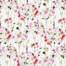 Dandelion Pink (18015), cotton print Adam Chair