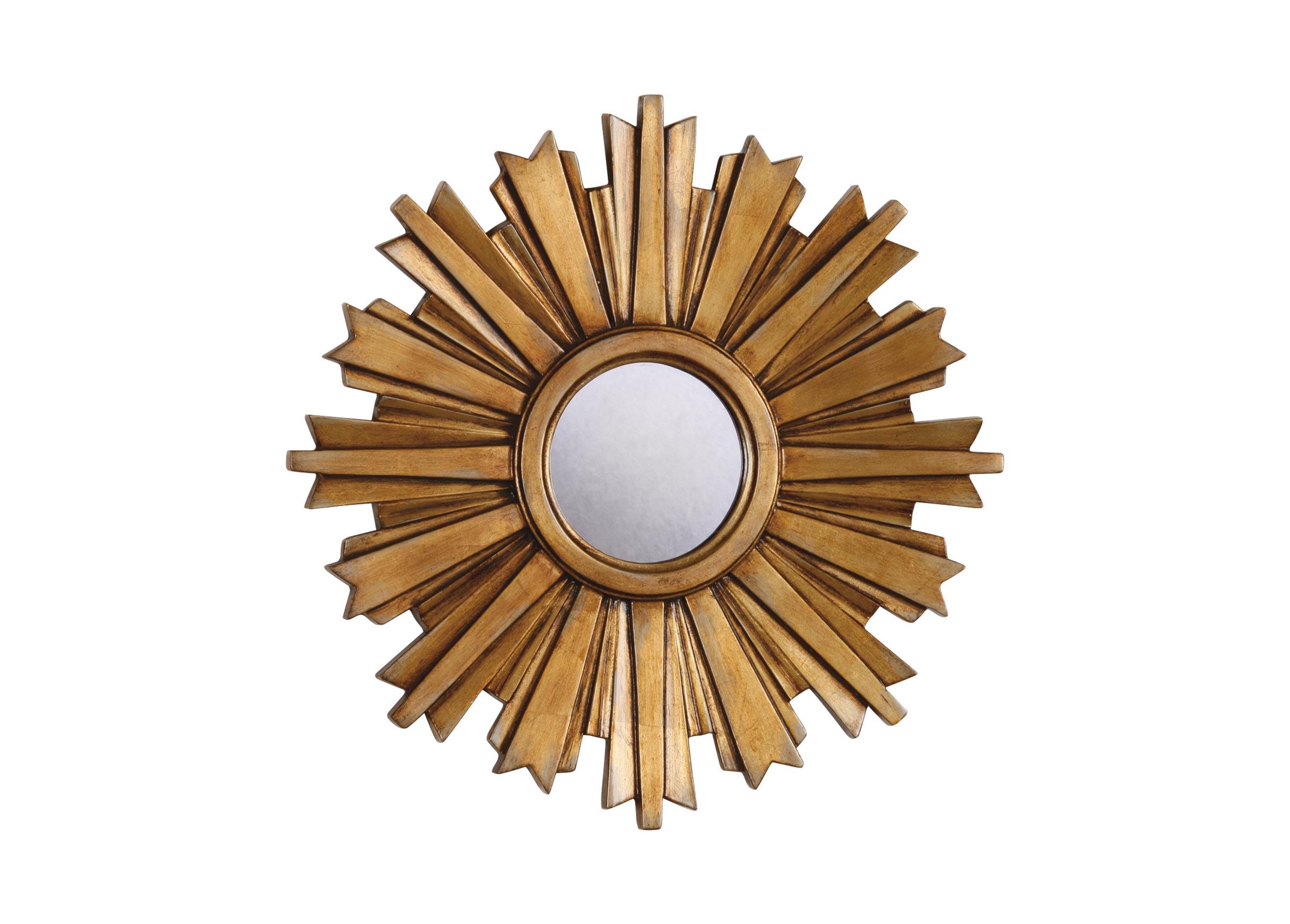 Mini Gold Starburst Mirror Mirrors Ethan Allen