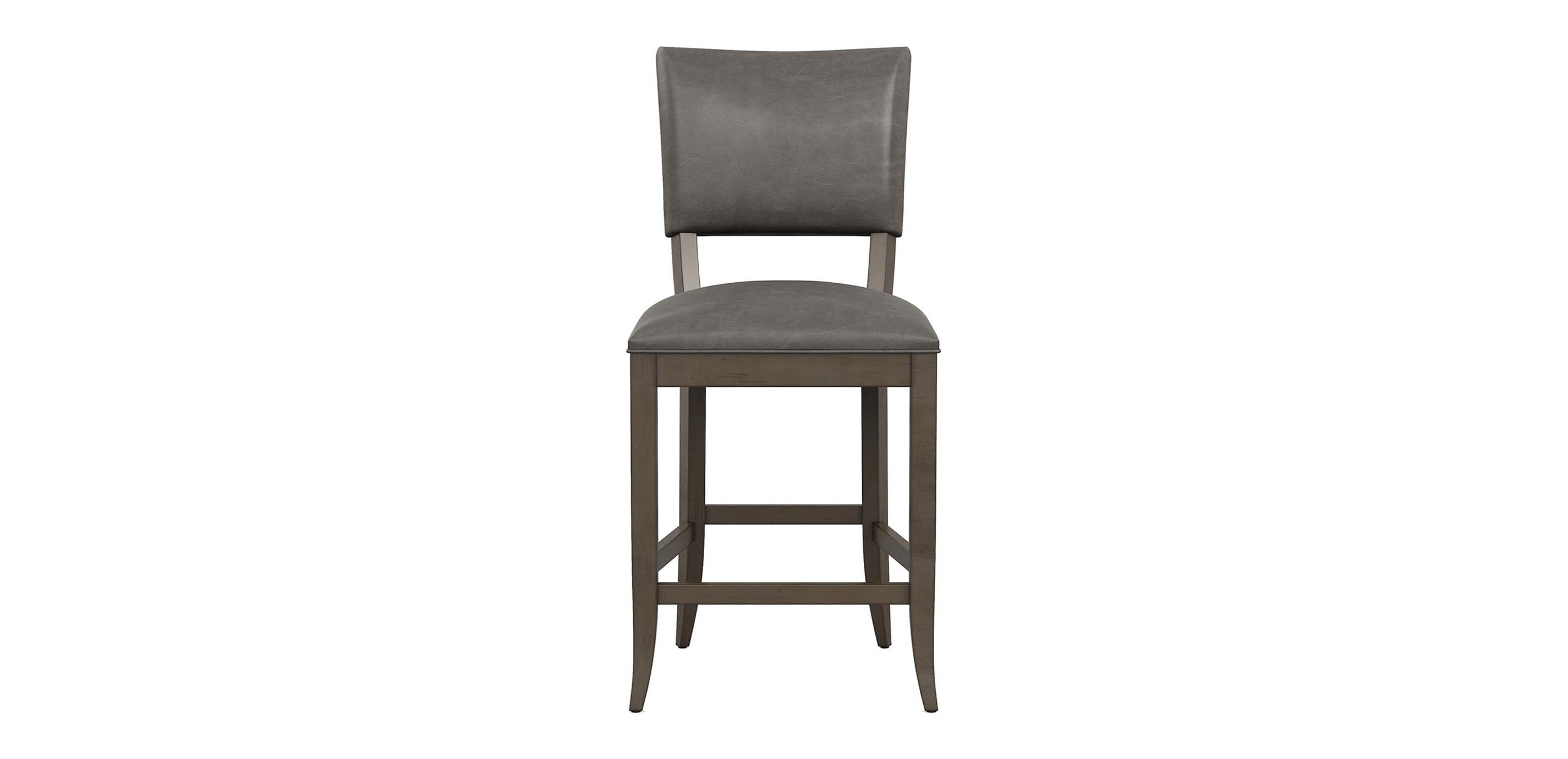Drew Leather Counter Stool Bar Amp Counter Stools Ethan
