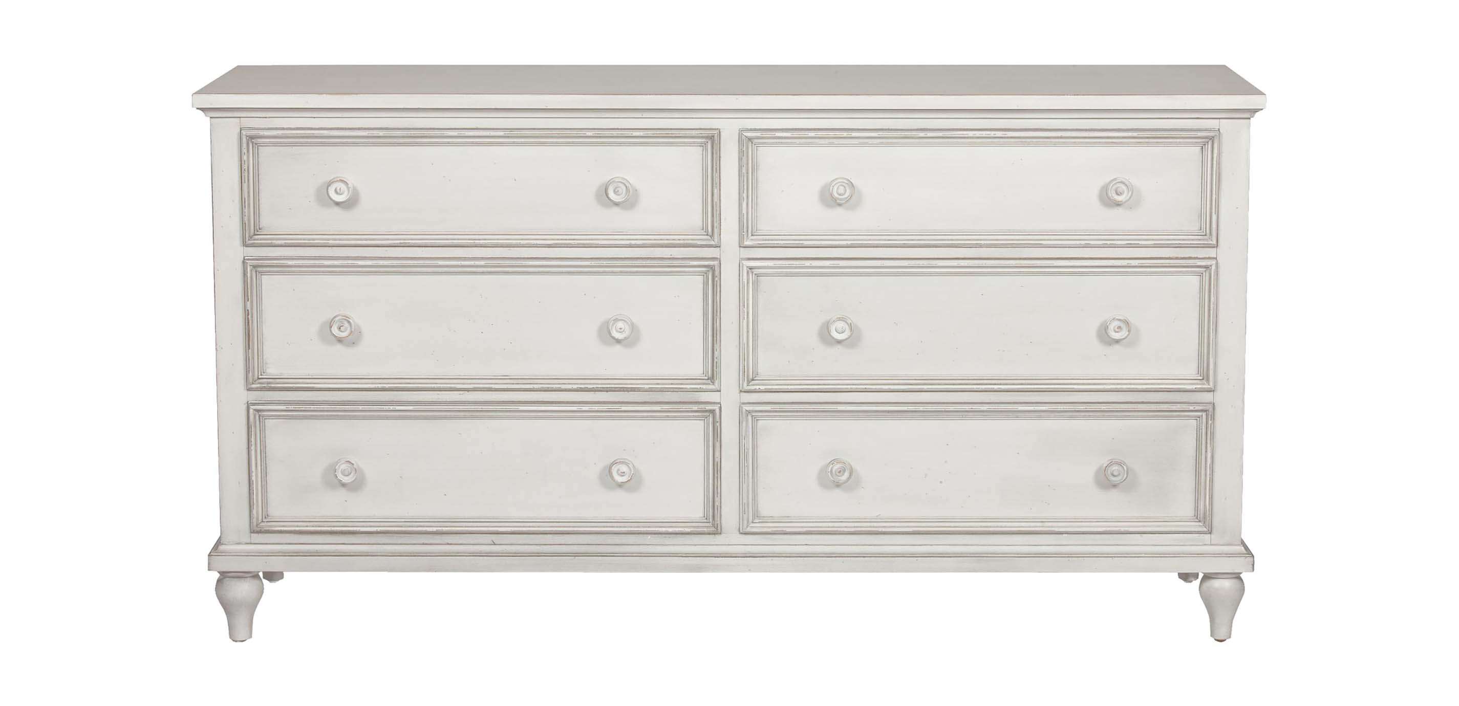 Images Reagan Double Dresser Large Gray