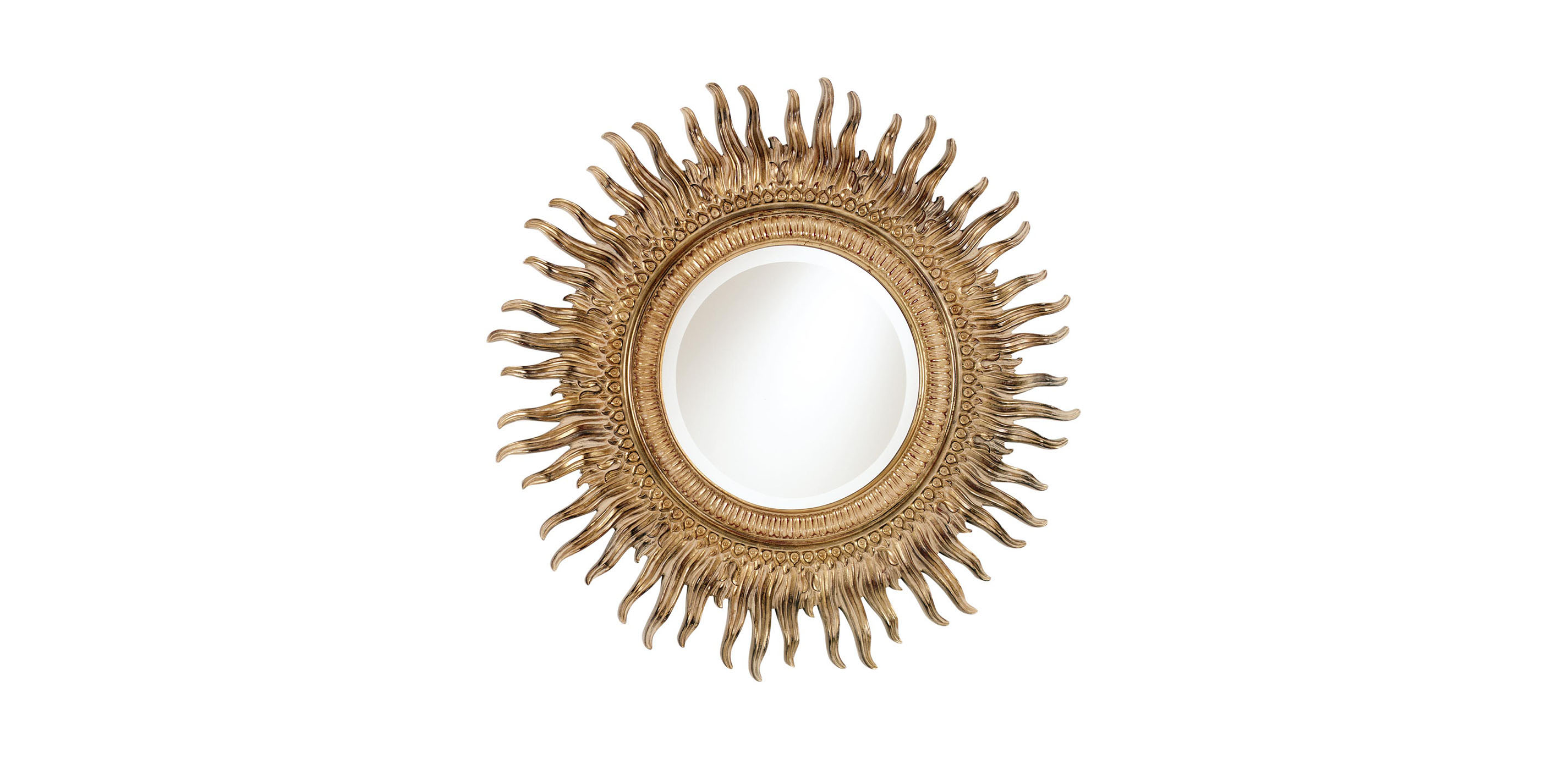 43 sunburst mirror mirrors ethan allen for Sunburst mirror