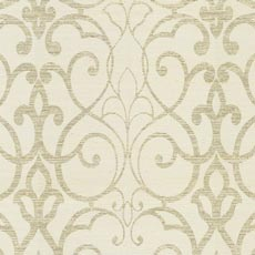 White Filigree Trellis Wallpaper