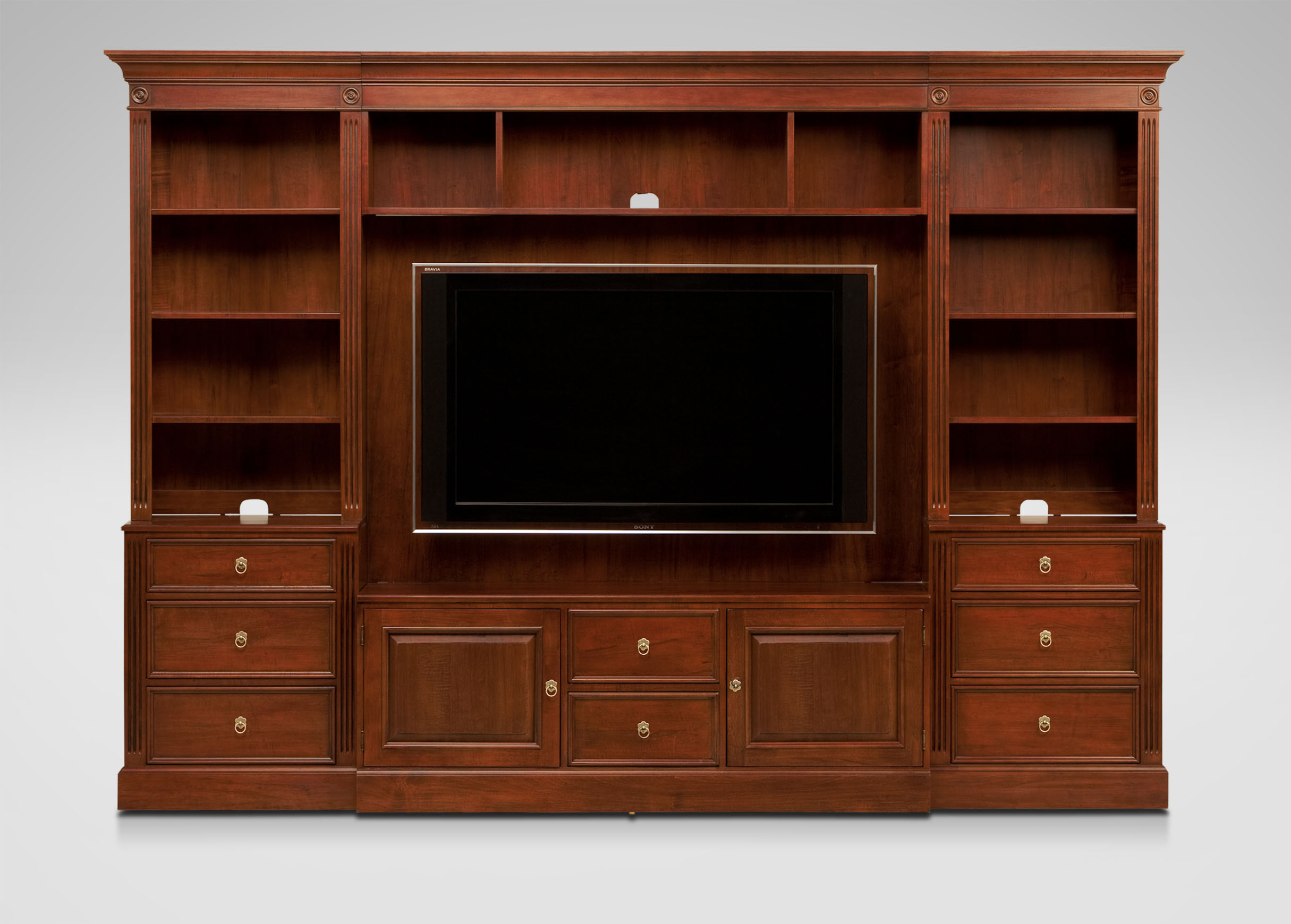 robinson media center media cabinets ethan allen. Black Bedroom Furniture Sets. Home Design Ideas