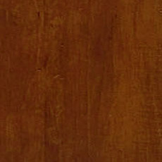 Caraway (277): Rich warm brown stain with dark glaze, moderately distressed, softly worn corners. Ginger Tall Chest