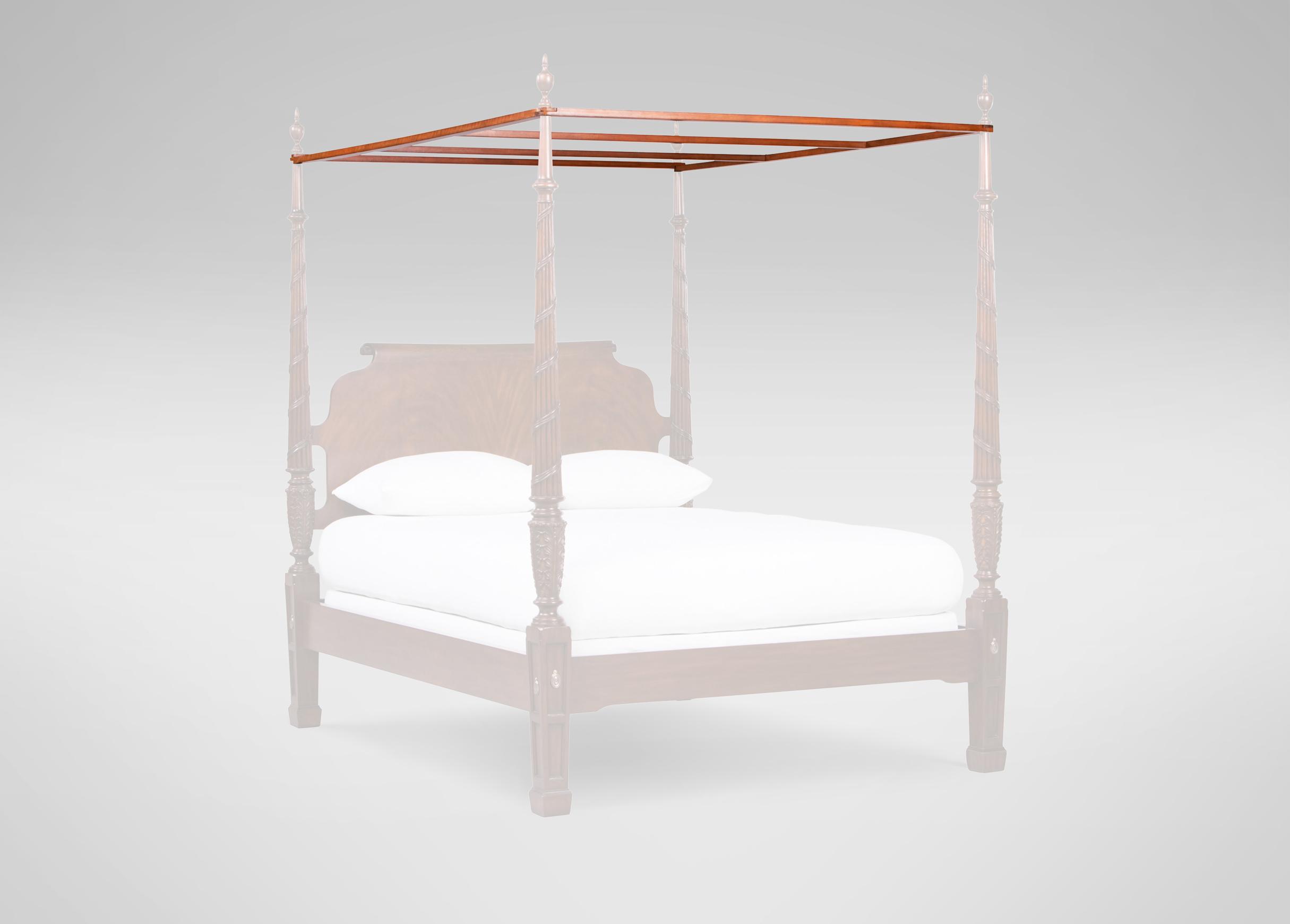 Images Laurel Canopy Frame   large_gray & Laurel Canopy Frame | Beds