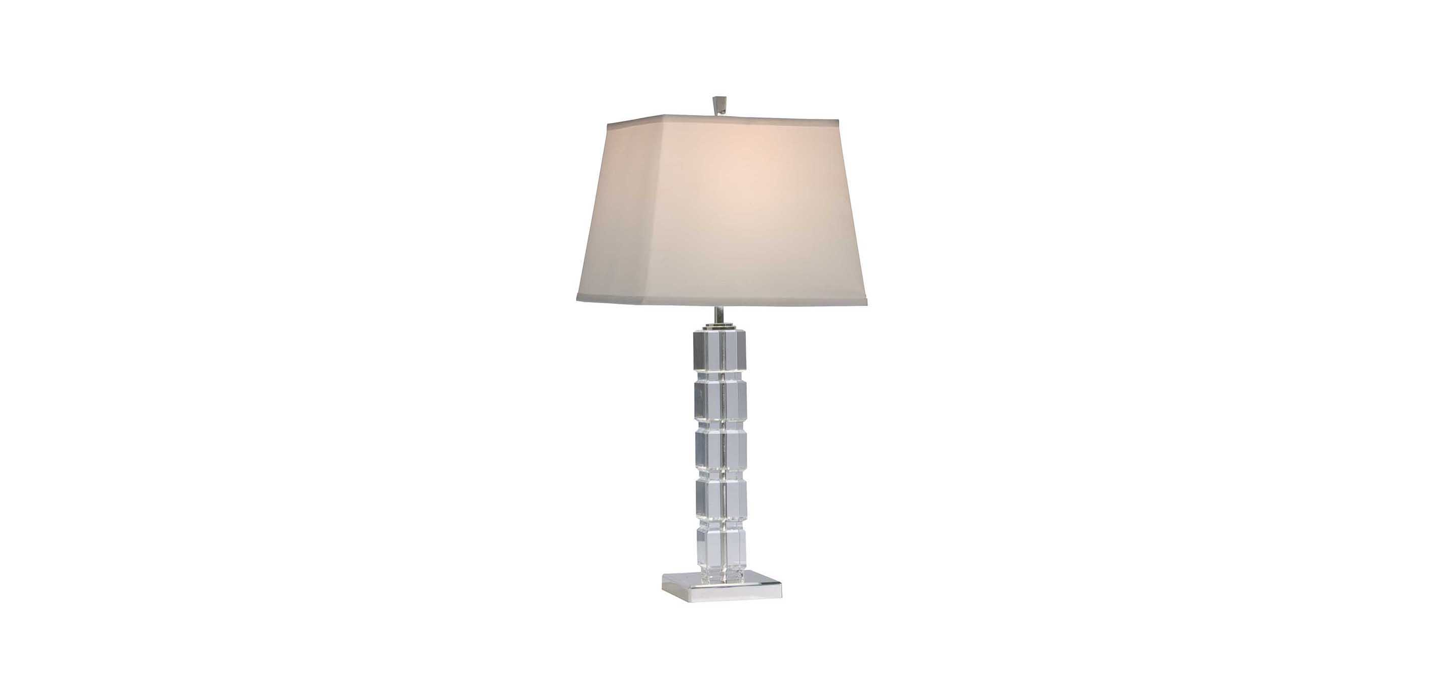 Images null & Crystal Blocks Table Lamp | TABLE LAMPS | Ethan Allen