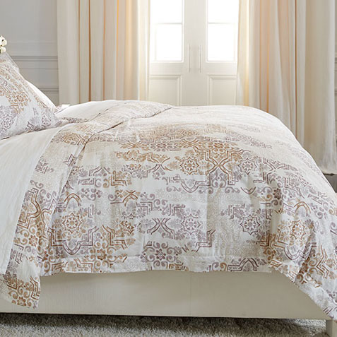 Arcelia Printed Full/Queen Duvet Cover Product Thumbnail