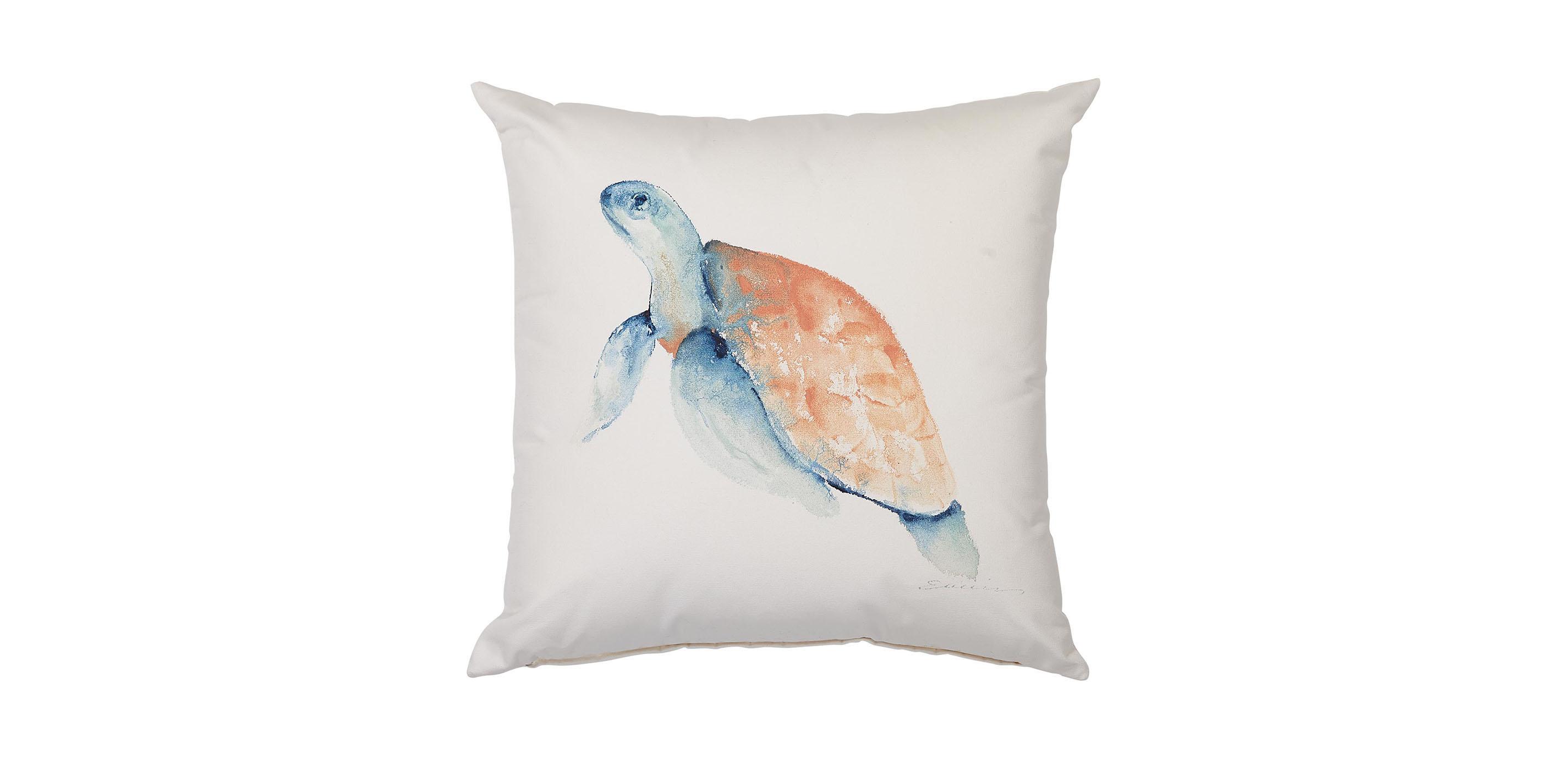 Sea Turtle Pillow Sea Turtle Outdoor Throw Pillow Ethan Allen