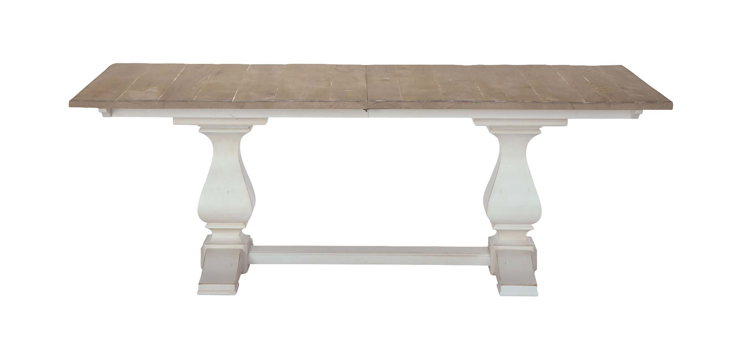 Cameron Extension Rustic Dining Table
