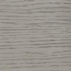 Gray Flannel (483): Light gray stain, wire-brushed to bring out the wood grain Andover Oak Low Profile Bed