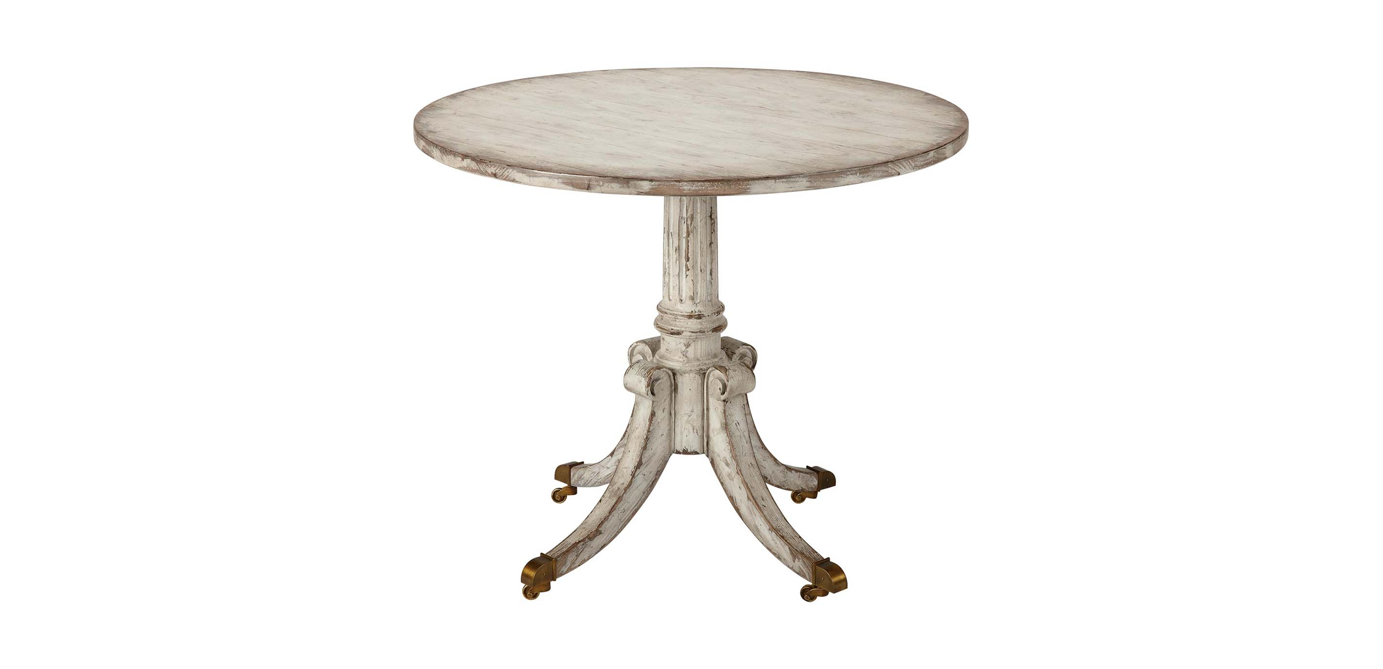 Images Vienna Round Pedestal Table, Brie , , Large_gray