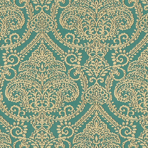 Lexi Turquoise Fabric by the Yard ,  , large