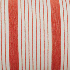 Coral Stripe Outdoor Pillow