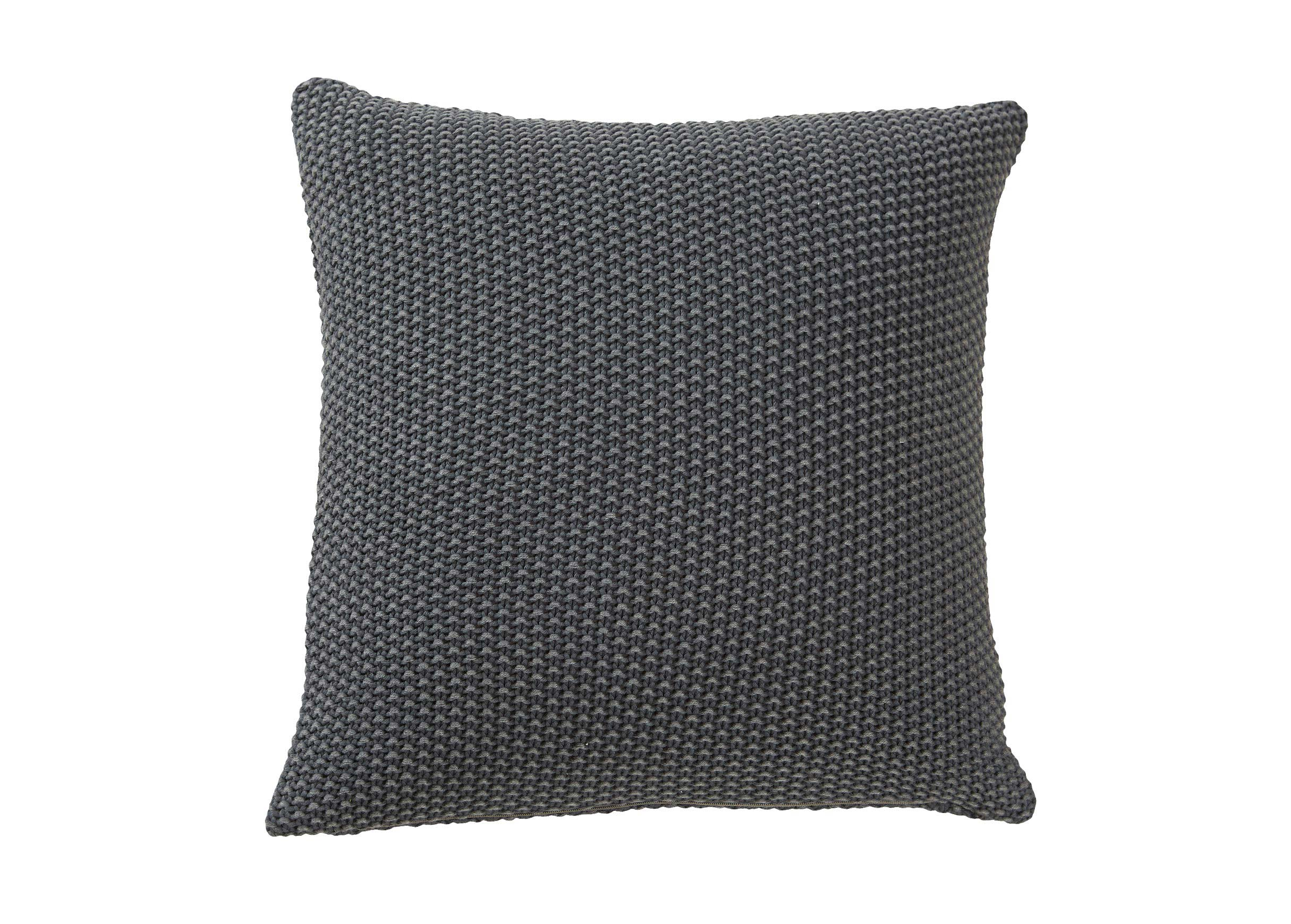Moss Stitch Throw Pattern Pillows
