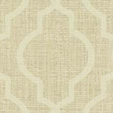 Gold Jute Quatrefoil Wallpaper