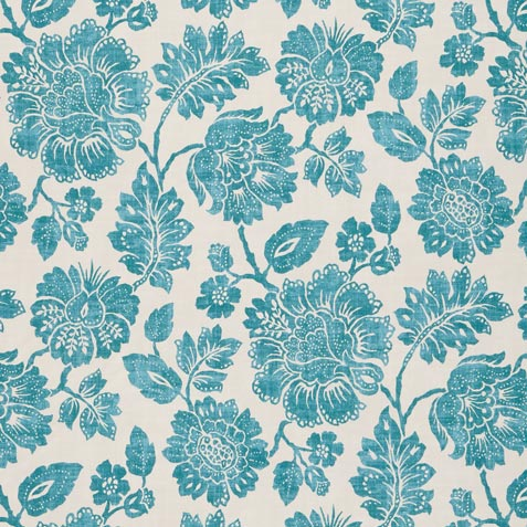 Amara Turquoise Fabric By the Yard Product Thumbnail