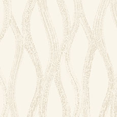 Cream with Silver and Gold Drizzle Wallpaper