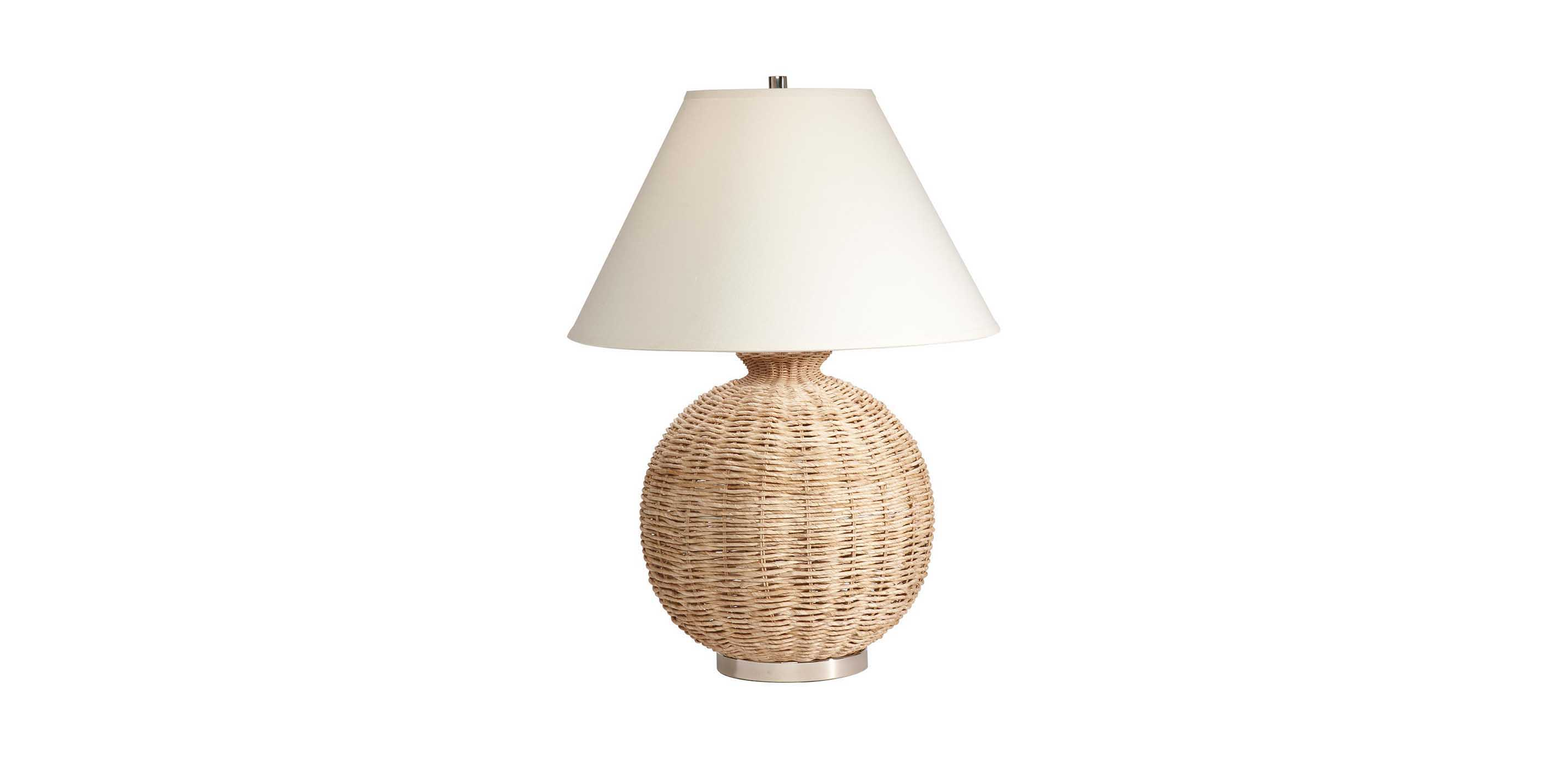 Seagrass Table Lamp | TABLE LAMPS