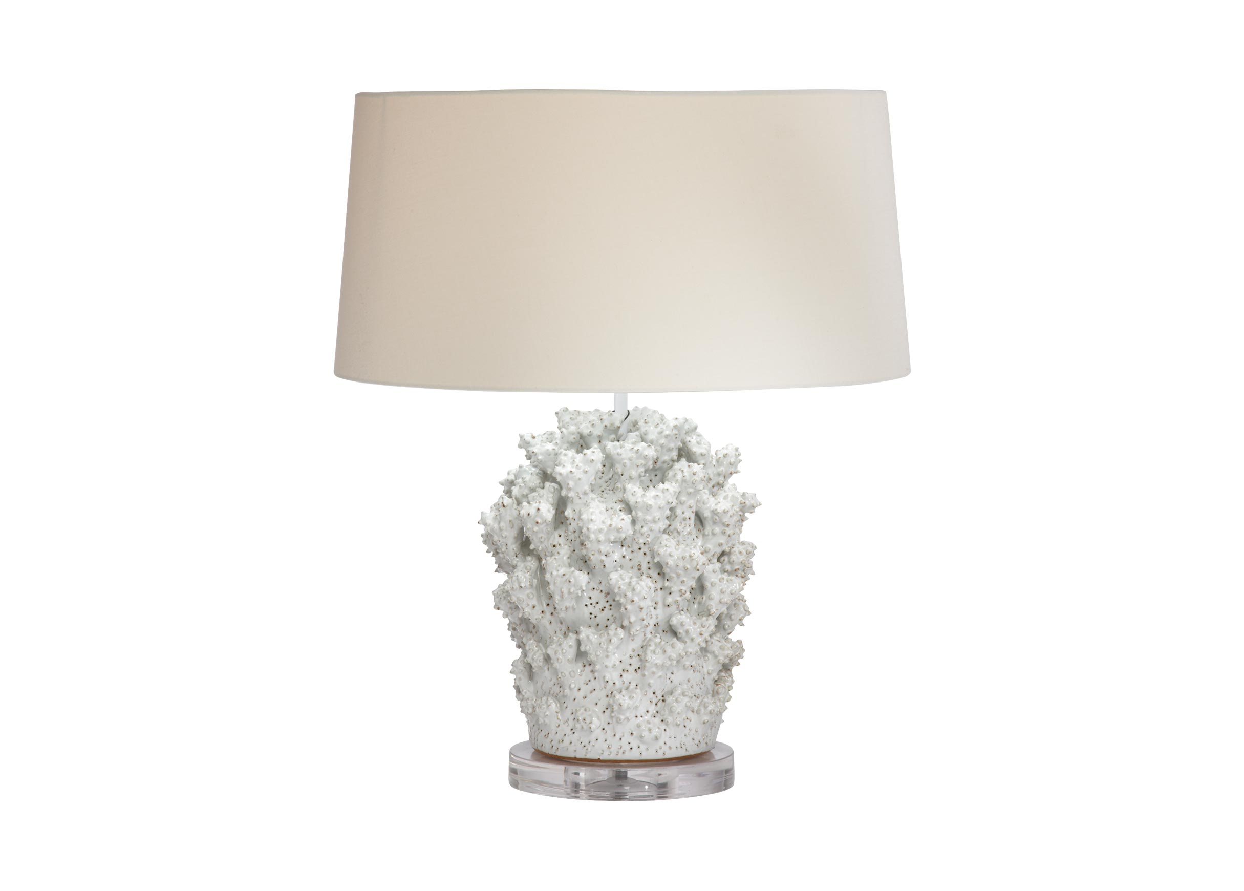 Images Staghorn Coral Table Lamp , , Large_gray